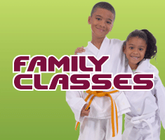 Family martial arts and taekwondo classes in central london