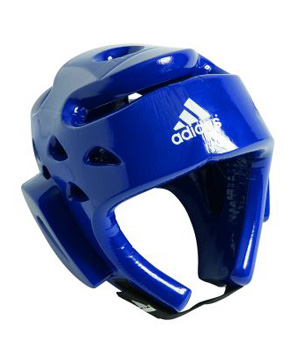Dipped Foam Head Guard Blue