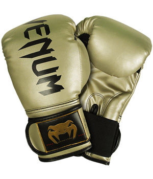 Venum Challenger Boxing Gloves Gold