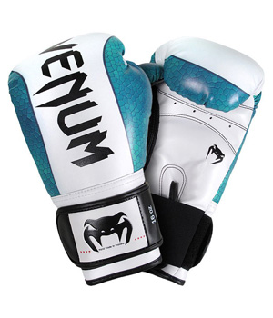 Venum Amazonia Boxing Gloves Green